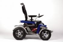 Des fauteuils roulants électriques concentrés de technologie
